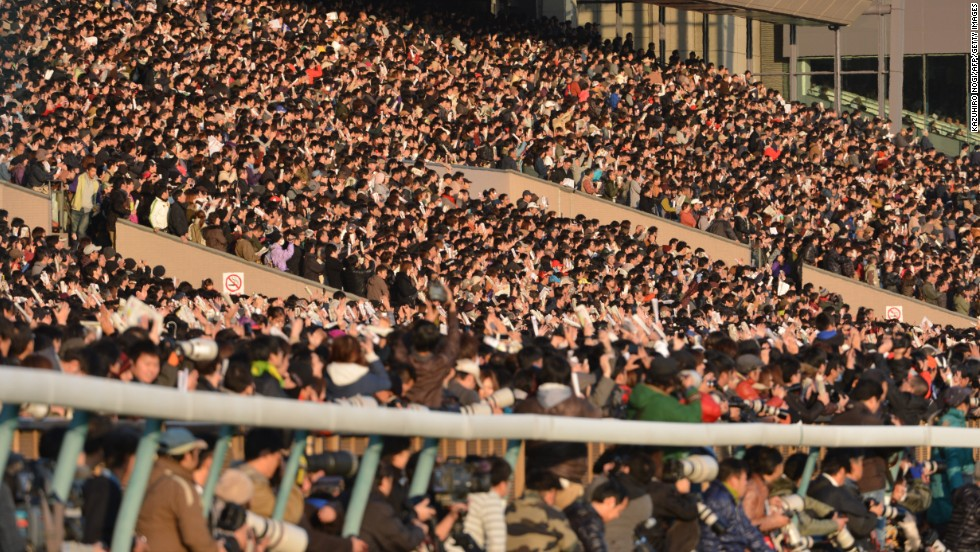 Japan's enthusiasm for the sport is growing. Its biggest annual horse race, the Japan Cup, attracts thousands of fans -- on the whole much younger than those in Europe -- to Tokyo Racecourse in November, from early in the morning.