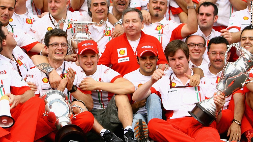 Raikkonen celebrated his title with Ferrari but two years later the Italian team chose to stick with Felipe Massa as it juggled its lineup. The team ended the Finn's contract in order to bring in Alonso, a double world champion with Renault, for 2010.