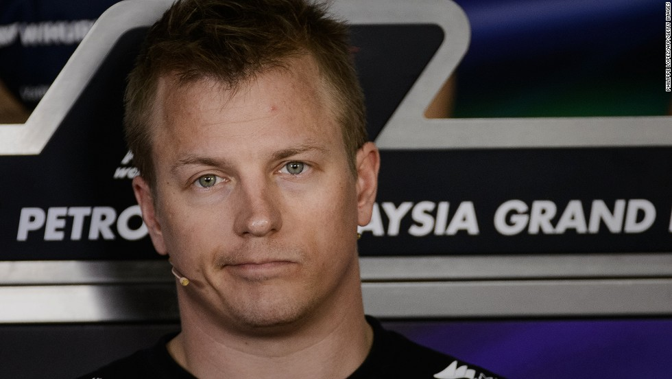 After a two-year hiatus, Raikkonen returned to F1 with the rebranded Lotus team, formerly Renault. As well as winning two races, the 33-year-old has won new fans with his laidback style.