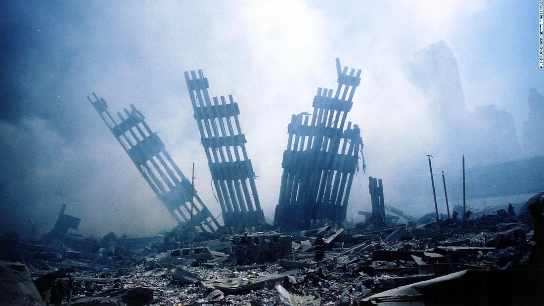 Terrorists hijacked four airliners on September 11, 2001, including two that the attackers flew into the World Trade Center towers in New York. The third hijacked plane crashed into the Pentagon, and the fourth crashed into a field in Pennsylvania. Nearly 3,000 people were killed in the worst terrorist attack in U.S. history.