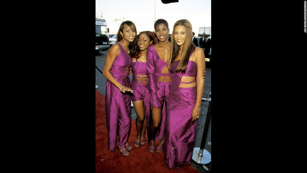 Who ran the world before Beyoncé? Destiny's Child. In 1999, Queen Bey, right, was reigning over a girl group with a rotating cast but hot singles nonetheless. As listeners prepared for the new millennium, they had Destiny's Child in their ears. The group included, from left, LaTavia Roberson, LeToya Luckett and Kelly Rowland.