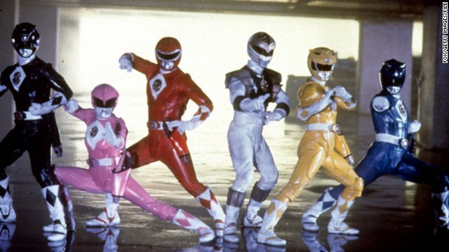 """Mighty Morphin Power Rangers"" debuted on TV in 1993."
