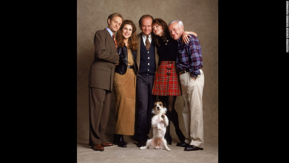 "In the finale of ""Frasier,"" Niles and Daphne had a kid, Martin married Ronee, and the character of Dr. Frasier Crane left Seattle with a new potential love interest, bidding goodbye to television after 20 years."
