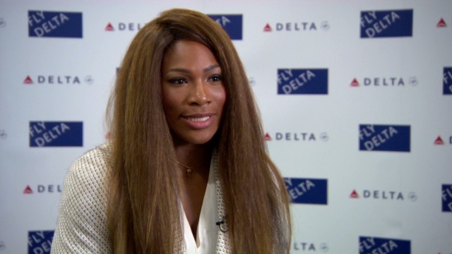 Life on the road with Serena Williams
