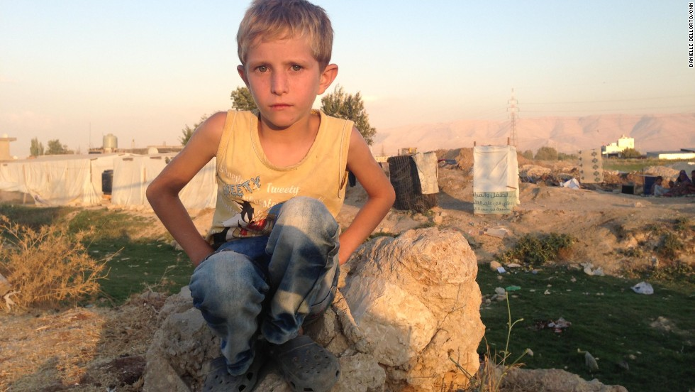 7-year-old's story shows pain, worry of Syrian refugees