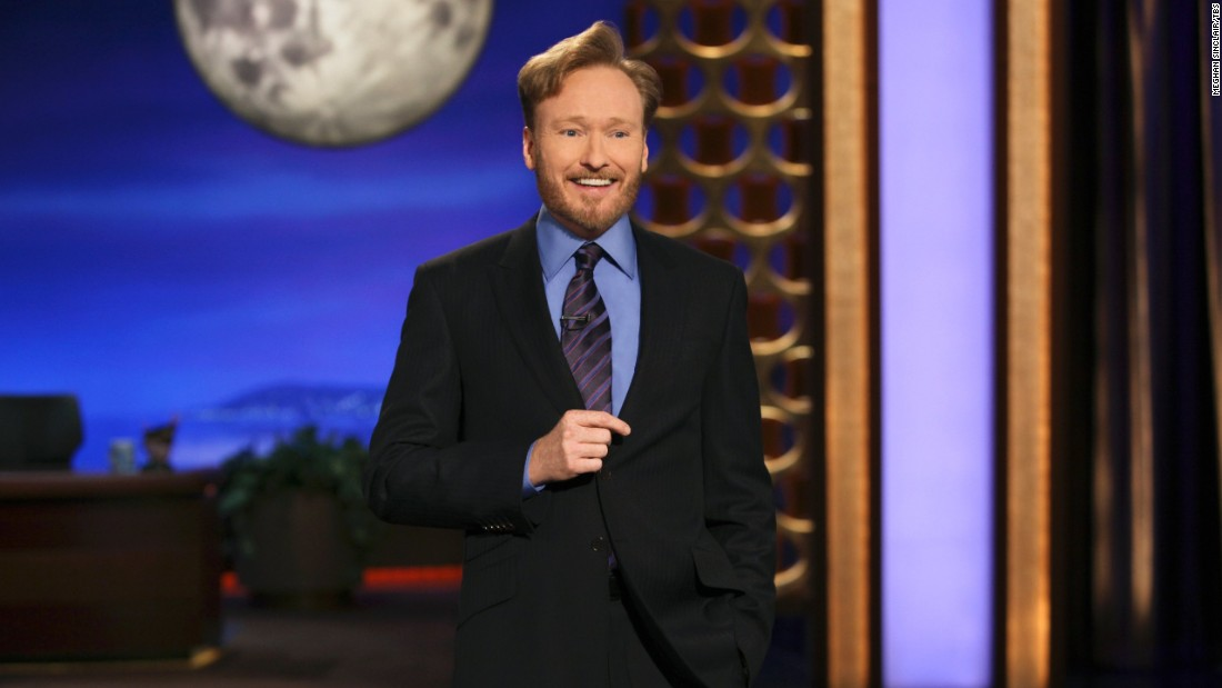 "Conan O'Brien took over Letterman's NBC ""Late Night"" spot when Letterman departed for CBS and hosted the ""Tonight Show"" for about seven months in 2009. After leaving NBC, he joined TBS (like CNN, a part of Time Warner) and has been hosting ""Conan"" there since 2010."