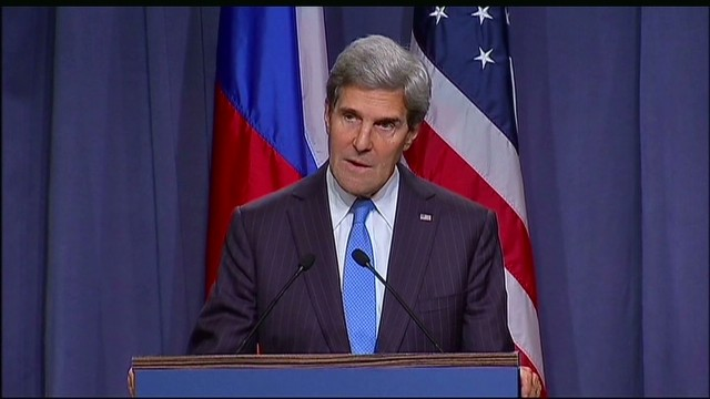 Kerry: Syria deal must be comprehensive