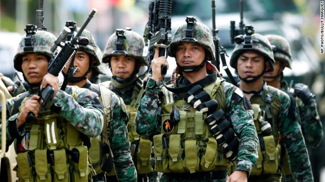 Philippine forces, rebels resume clash