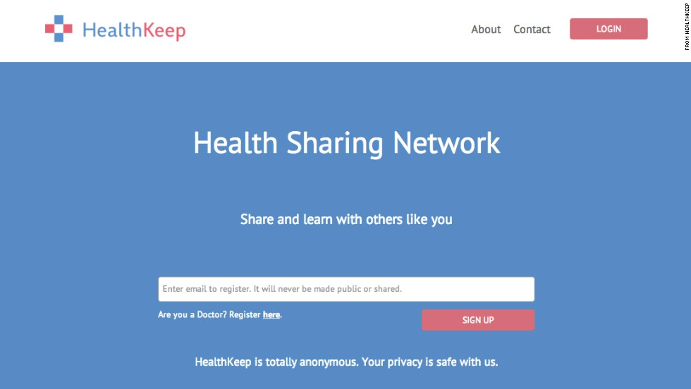 "HealthKeep offers access to a completely anonymous, highly personalized patient-to-patient network. Users can post and respond to experiences, and engage in discussions with medical experts. Rather than a forum style, HealthKeep uses a live stream resembling a Facebook News Feed that is tailored to each profile and updates in real time. (App launching this month, <a href=""https://www.healthkeep.com/"" target=""_blank"">HealthKeep.com</a>)"