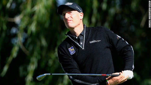 Jim Furyk entered the record books by becoming the sixth man in golf to shoot a 59.