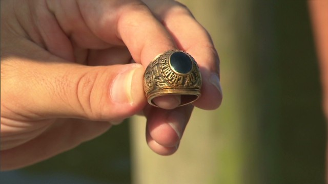 Diver finds dying man's long lost ring