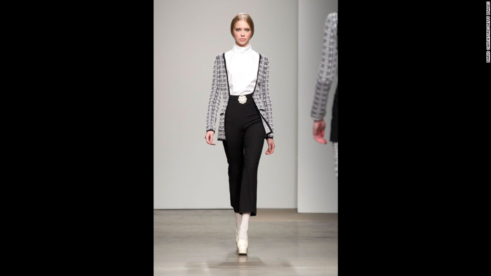 The Giulietta fall 2012 fashion show during New York Fashion Week in February 2012.