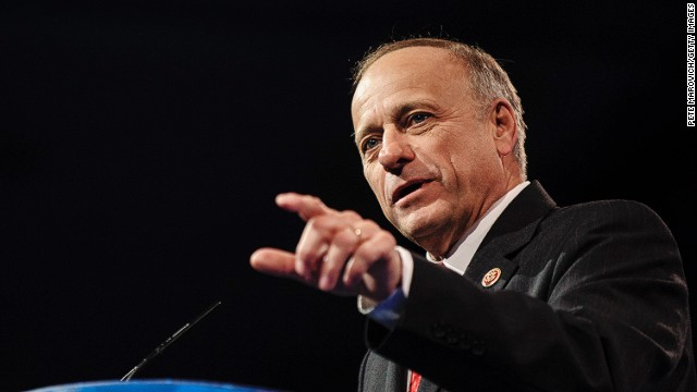 WASHINGTON, DC - MARCH 16: Rep. Steve King (R-IA) speaks at the 2013 Conservative Political Action Conference (CPAC) March 16, 2013 in National Harbor, Maryland. The American Conservative Union held its annual conference in the suburb of Washington, DC to rally conservatives and generate ideas.  (Photo by Pete Marovich/Getty Images)