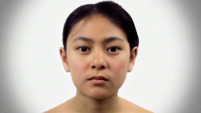 Beautiful timelapse shows aging woman