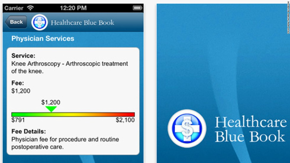 "Healthcare BlueBook helps patients find out what medical and dental care should cost. Users can find fairly priced health care services in their area and even print a ""binding price estimate"" agreement to hold providers to their word. (iPhone, iPad, Android, <a href=""http://healthcarebluebook.com/"" target=""_blank"">HealthcareBlueBook.com</a>)"