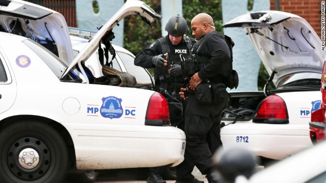 Witnesses recount Navy Yard shooting