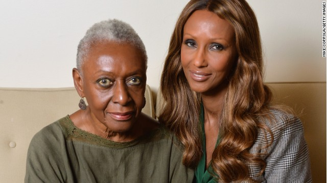 Bethann Hardison and Iman are part of a campaign for more diversity on the runway.