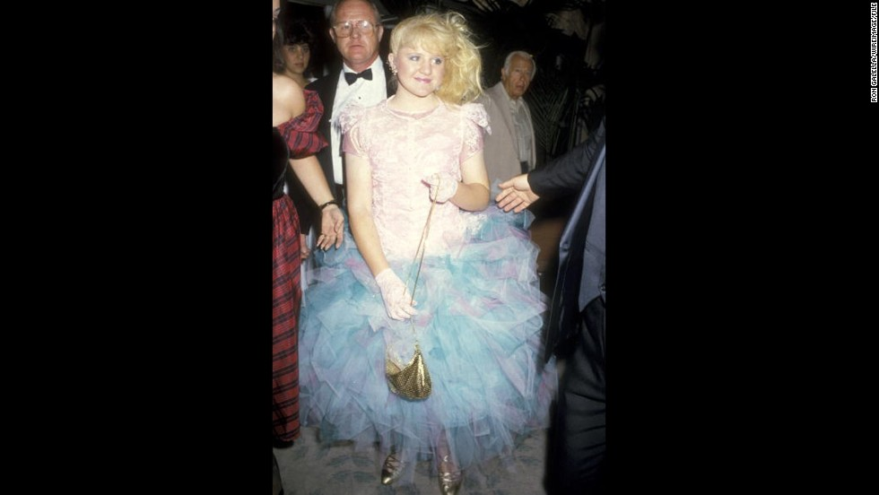"""Family Ties"" star Tina Yothers wore a scene-stealing -- and era-appropriate -- dress to the 1986 Emmys."