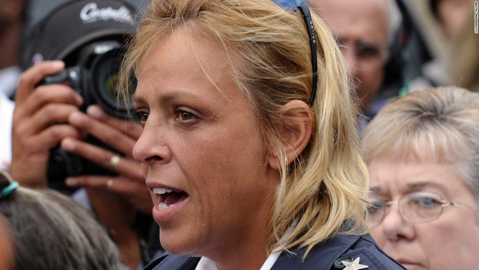 "District of Columbia Police Chief Cathy Lanier speaks to reporters at Washington Navy Yard on Monday, September 16. She said the mass shooting, which left at least 12 people -- and the suspect -- dead, was ""<a href=""http://www.cnn.com/2013/09/16/us/dc-navy-yard-tic-toc/index.html"">one of the worst things we've seen</a>."" Many of the people directing the official response to the horrific incident are women."