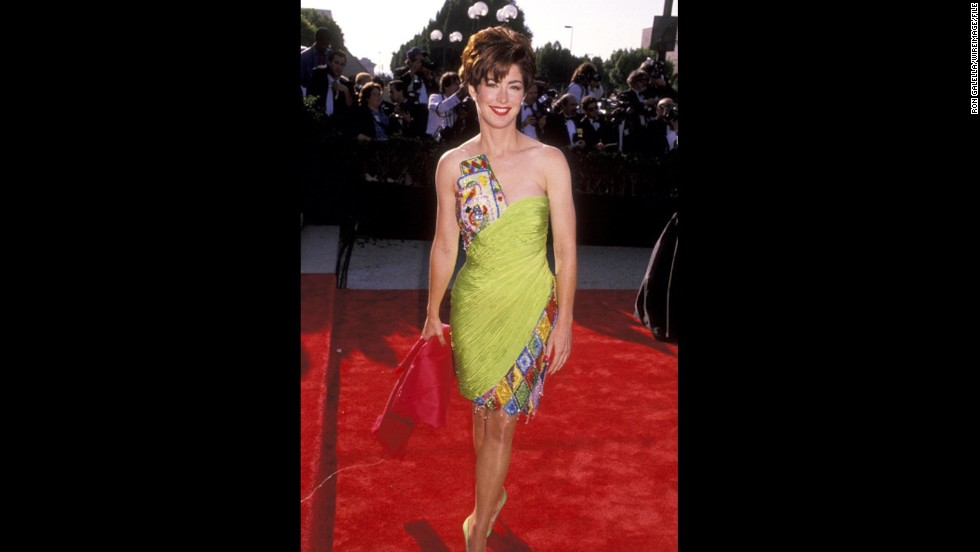 "Dana Delany, who was starring in ""China Beach"" at the time, was an eye-catching outstanding lead actress nominee at the 1990 Emmys. (She later won for the same role in 1992.)"