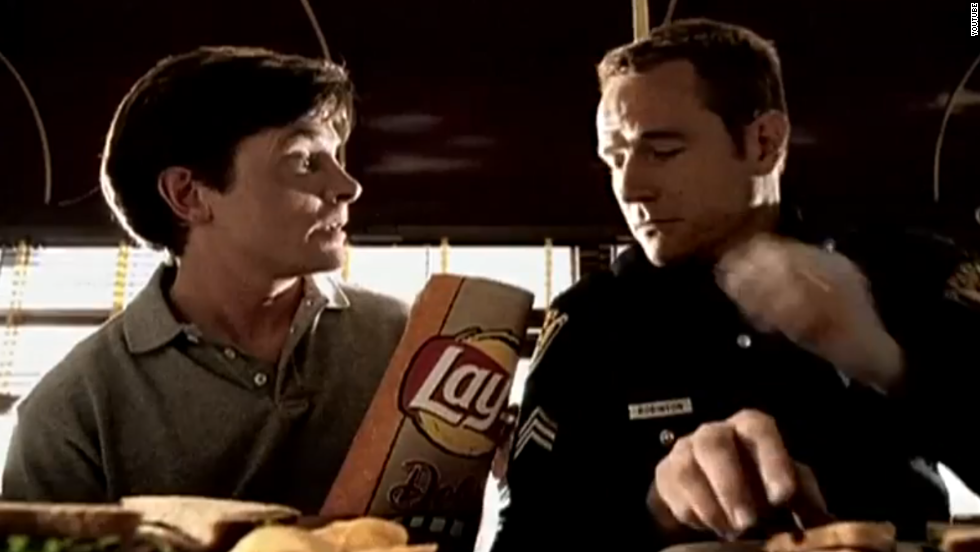 One of Cranston's most-seen commercials was a popular spot with Michael J. Fox for Lay's potato chips.