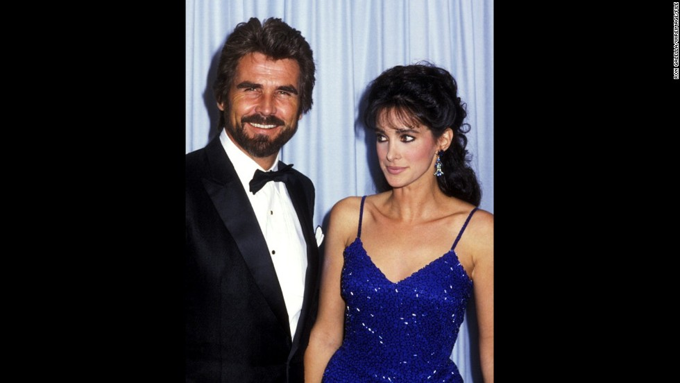 "In 1985, James Brolin attended the Emmys with his ""Hotel"" co-star Connie Sellecca."