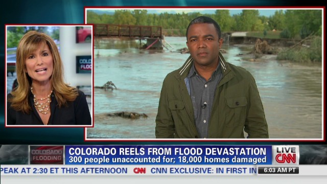 Colorado reels from flood devastation