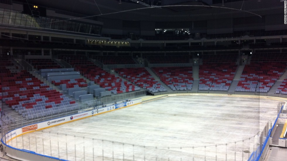 The 12,000 Bolshoi Dome will host the highly-anticipated ice hockey final where the host nation will be hoping to challenge for the gold medal.