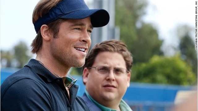 "In the 2011 hit ""Moneyball,"" Brad Pitt starred as a manager who uses computer-generated analysis to find new talent to assemble a baseball team."