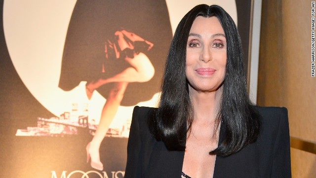 "Cher attends screening of ""Moonstruck"" on April 24 in Hollywood."