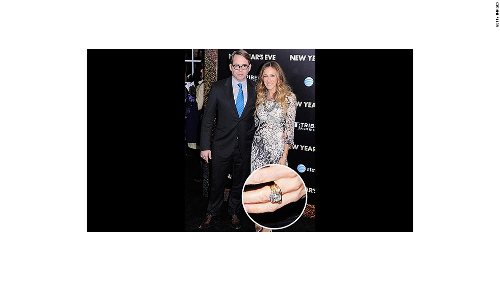 One of Hollywood's longest standing marriages started when Matthew Broderick gave Sarah Jessica Parker this beautifully cut yellow gold diamond ring.<br />