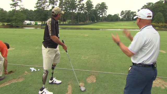 Golf helps rehabilitate veterans