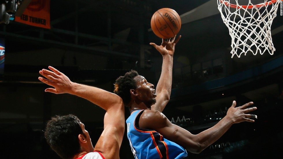 Hasheem Thabeet of Tanzania made a Final Four appearance as a college player with the University of Connecticut. He played with the Oklahoma City Thunder in the NBA from 2012 to 2014.