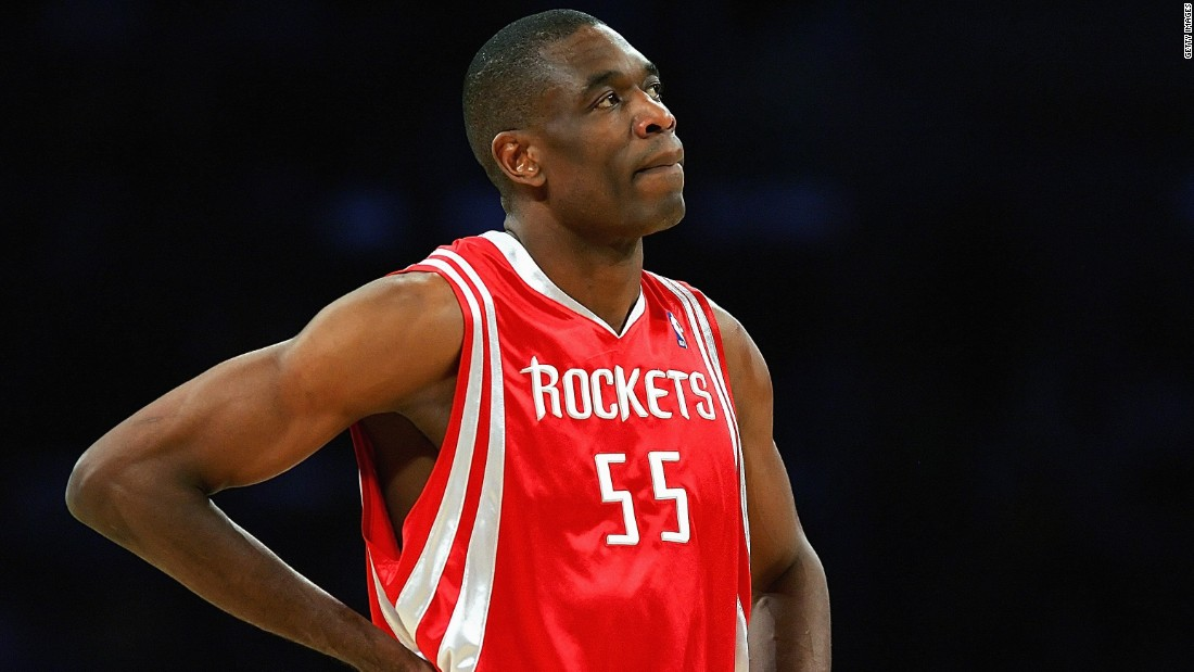 Dikembe Mutombo was born in Kinshasa, in the Democratic Republic of the Congo. He arrived at Georgetown University speaking no English, but graduated in 1991 with a degree in linguistics and diplomacy. The 7-foot 2-inch center played on six NBA teams, making eight All-Star appearances.