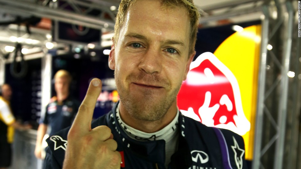Sebastian Vettel claimed a fourth successive Formula One drivers' title following another stunning season. The German, who won the final nine races of the season to take his tally to 13 overall, is still only 26.
