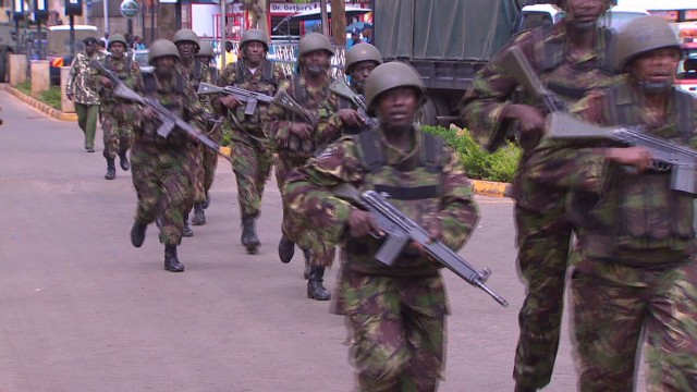 Terrorists attack mall in Kenya
