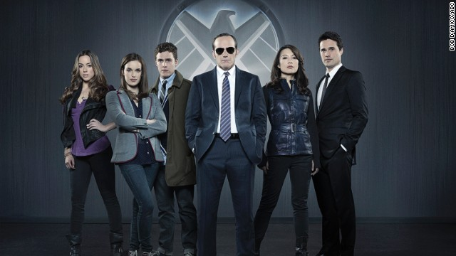 The original cast of 'Marvel's Agents of SHIELD.'