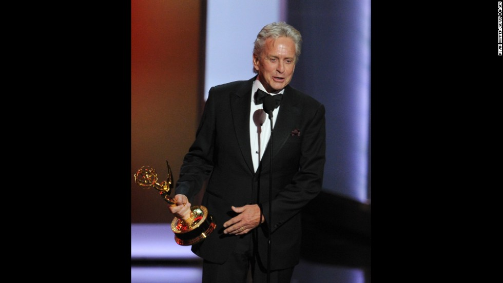 "Outstanding lead actor in a miniseries or movie: Michael Douglas, ""Behind the Candelabra"""