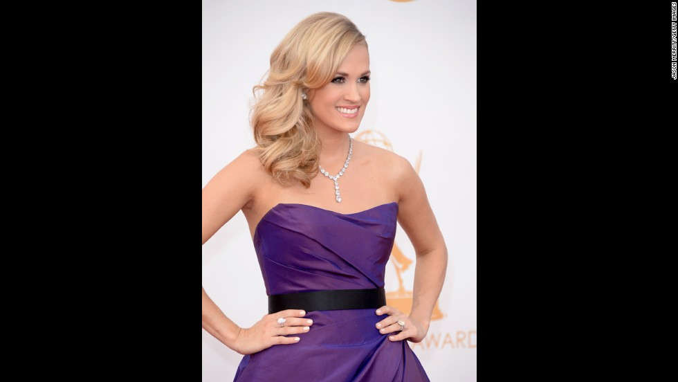 "Carrie Underwood covered the Beatles' ""Yesterday"" at the Emmys."