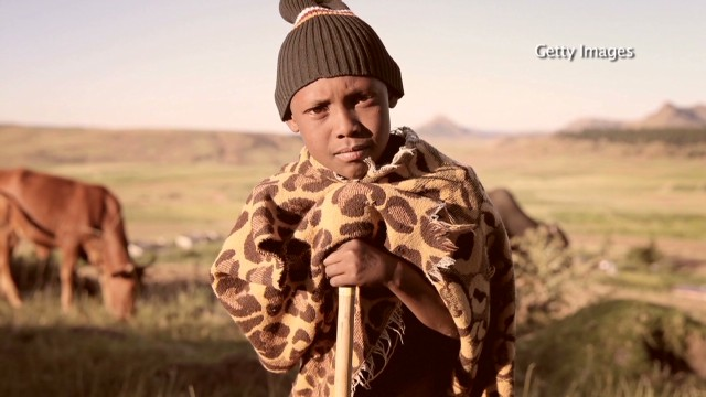 Princes unite to help Lesotho herd boys