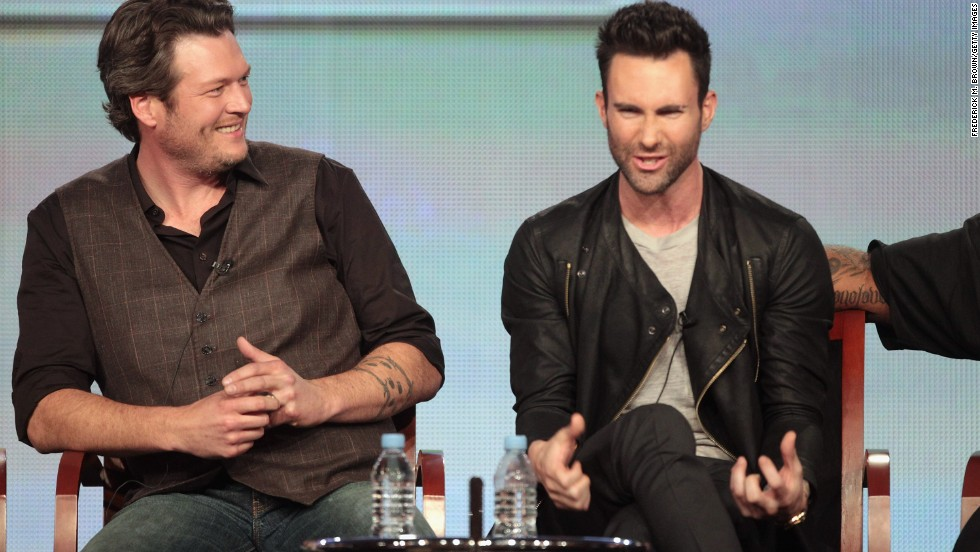 "For some fans, the relationship and competition between Blake Shelton and Adam Levine are big reasons to watch ""The Voice."" The show has played up the pair's bromance, but that hasn't made them less competitive, often needling each other along the way. Levine won the first season and Shelton has won every season since."