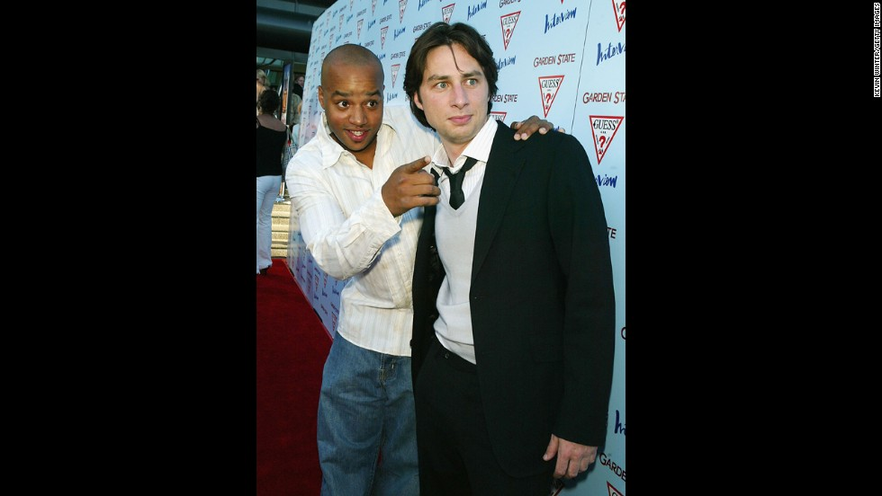 "You just thought that ""Scrubs"" characters Turk and J.D.'s <a href=""http://www.youtube.com/watch?v=-7hjdC8-jbw"" target=""_blank"">""Guy Love"" </a>was only on-screen. It turns out that Donald Faison and Zach Braff are besties in real life, singing <a href=""http://www.youtube.com/watch?&v=ZAGCZMQUeXo"" target=""_blank"">Christmas carols</a>, one hosting the other's wedding <a href=""http://vimeo.com/61048321"" target=""_blank"">at their home</a>, the whole bit. So of course they had to <a href=""http://www.youtube.com/watch?v=bv6UrIfZQWI"" target=""_blank"">reunite</a> on Faison's TV Land show."
