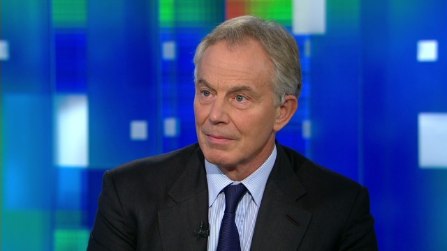 Tony Blair on the Middle East crisis