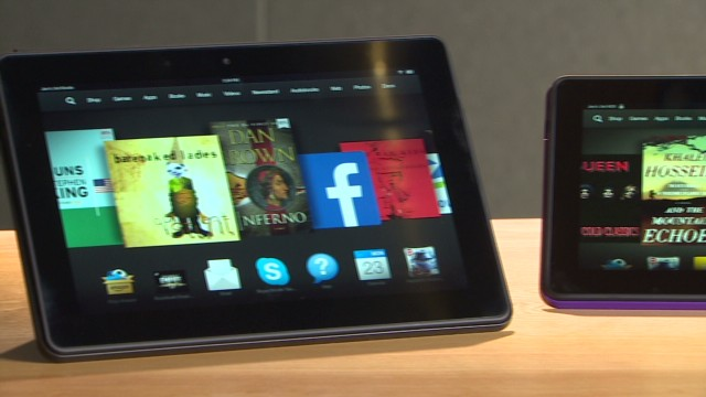 Amazon CEO talks new Kindles, newspapers