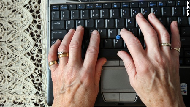 Age was the strongest predictor of Web use in a new survey. Forty-four percent of people 65 or older said they don't go online.
