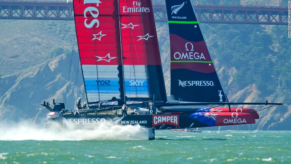 "Emirates Team New Zealand will be looking for revenge in 2017 but will have to earn the right to race the U.S. boat again in a series of races against four other crews from Britain, France, Sweden and Italy. The challengers will race each other during 2015 and 2016. The Kiwi boat's skipper Dean Barker said in a statement: ""We have been working quietly behind the scenes towards this day almost since the last day of the 34th America's Cup. Now the real work begins."""