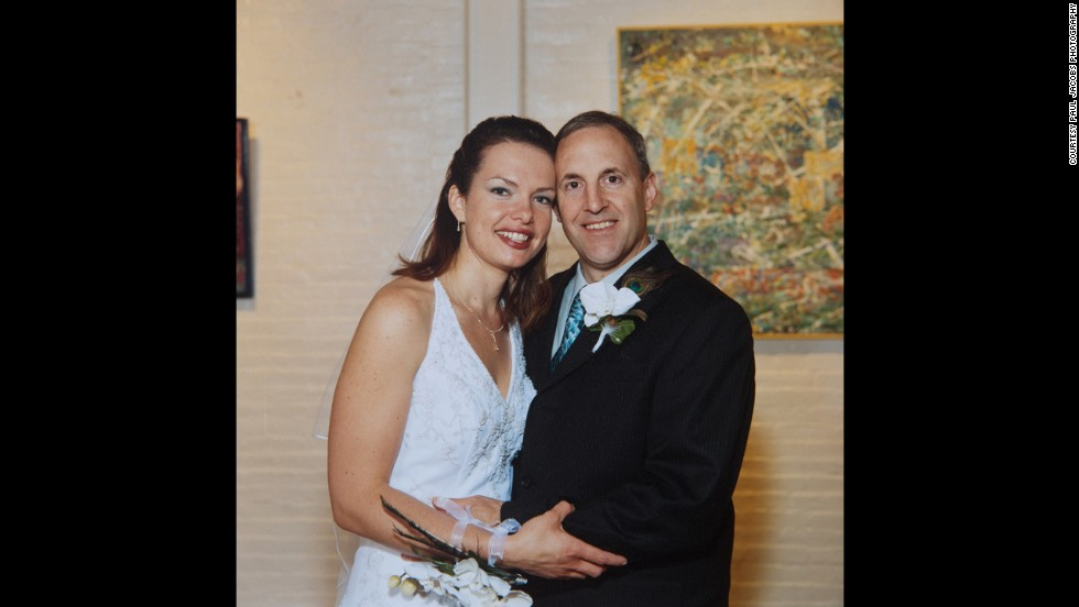 Dan and Marie married in Lancaster in May 2007, seven months after the shooting.