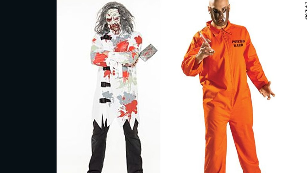 "British retailers have removed ""mental patient"" and ""psycho ward"" Halloween costumes from their online stores. Schizophrenia isn't so lighthearted, so maybe remove them from your costume closet, too?"