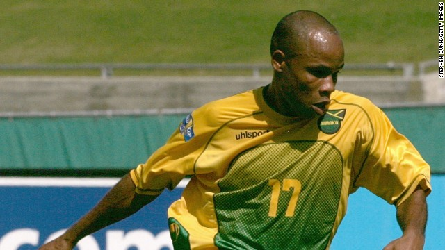 Jermaine Hue was suspended for nine months by FIFA after he tested positive for dexamethasone.