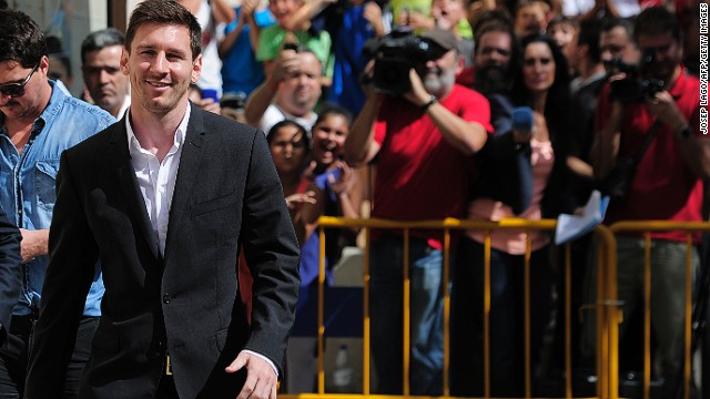 Lionel Messi's messy tax scandal